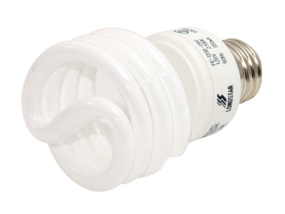 Longstar FE-IISB-19W/27K Long Star 19W 120V Warm White CFL Bulb, E26 Base