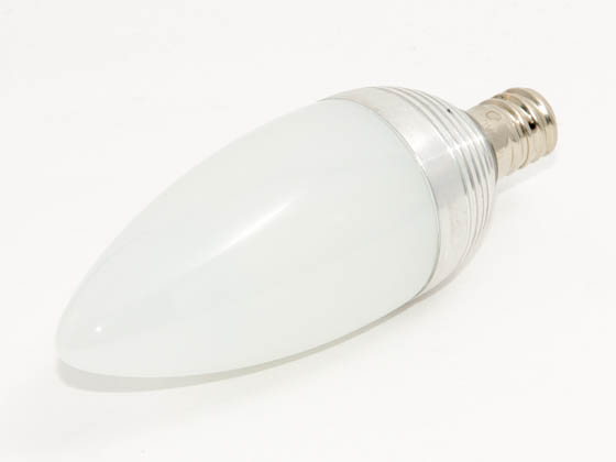 Bulbrite B770403 LED2CTF 15W Incandescent Equivalent, NON-DIMMABLE, 2.1 Watt, 120 Volt Warm LED Decorative Bulb - Limited Inventory Available