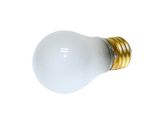 Halco Lighting HAL6015 A15FR25 (25W, 130V) Halco 25W 130V A15 Frosted Ceiling Fan or Appliance Bulb, E26 Base