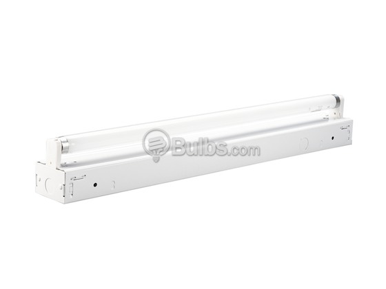 Progress Lighting P7265-30EB 2' Striplight Fixture For One F17T8 Lamp