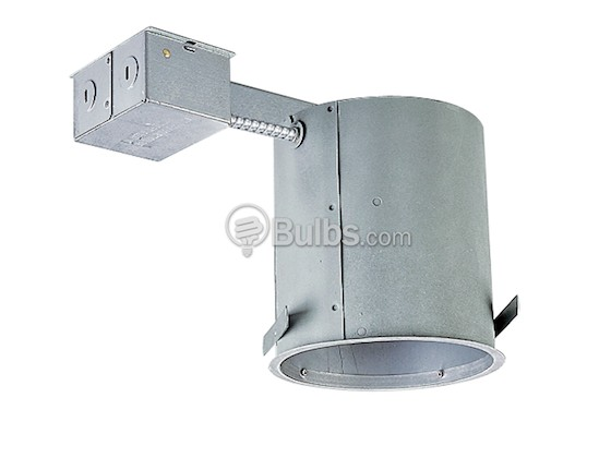 "Progress Lighting P187-TG 6"" Remodel IC and Non-IC Incandescent Recessed Housing"