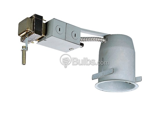 "Progress Lighting P818-TG 4"" Low Voltage (MR16) Remodel Non-IC Recessed Housing"