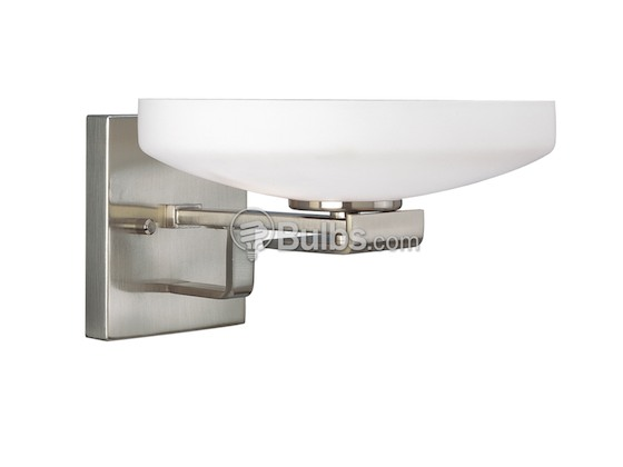Progress Lighting Lucky Collection 4 Light Brushed Nickel: Two-Light Wall Bracket Light Fixture, International