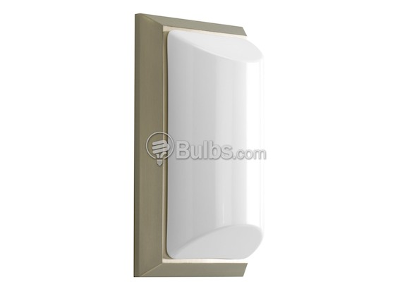 Progress Lighting P5790-09 Acrylic Wall Sconce Light Fixture, Shelton Collection, Brushed Nickel