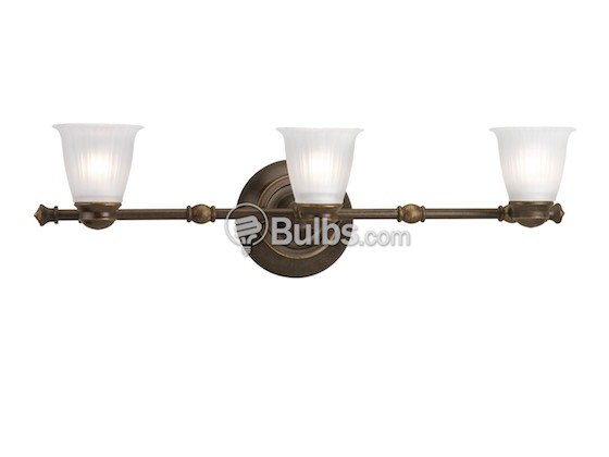Progress Lighting P3849-77WB Three-Light Directional Fixture, Renovations Collection, Forged Bronze