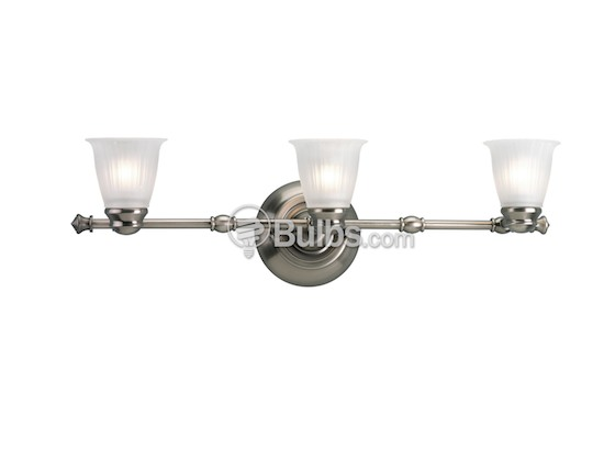 Progress Lighting P3849-81WB Three-Light Directional Fixture, Renovations Collection, Antique Nickel