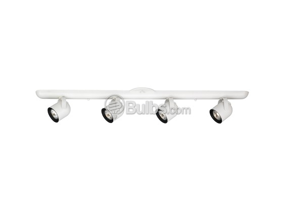 Progress Lighting P6161-30WB Four-Light Fixture With Multi-Directional Heads, White