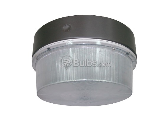 "Crystal Lighting SM-CLC-3042-65IND Up to a 150W HID Equivalent, 65 Watt 11 1/2"" Round Induction Canopy Light Fixture"