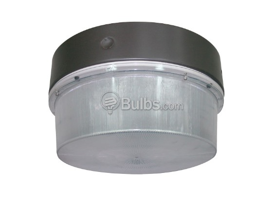 "Crystal Lighting SM-CLC-3042-100IND 250W HID Equivalent, 100 Watt 15"" Round Induction Canopy Light Fixture"