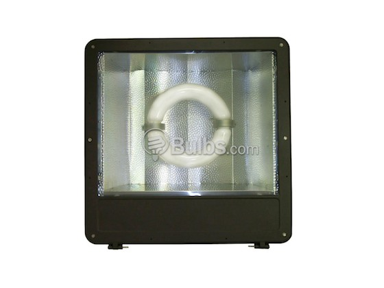 "Crystal Lighting XLG-CLP-3040-200IND 400W HID Equivalent, 200 Watt 23"" Induction Flood/Parking Lot Light Fixture"