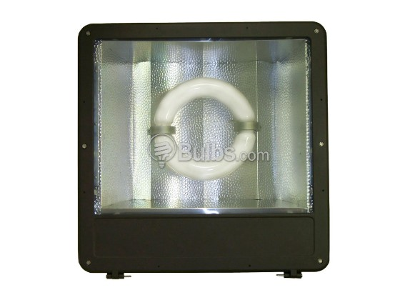 "Crystal Lighting XLG-CLP-3040-400IND Up to a 1000W HID Equivalent, 400 Watt 23"" Induction Flood/Parking Lot Light Fixture"