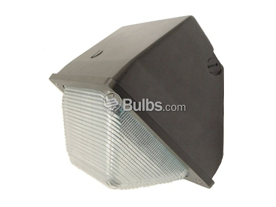 Value Brand QWP12M100QLMP Wallpack Fixture (Small) with 100 Watt MH Lamp, Voltage Must be Specified Before Ordering
