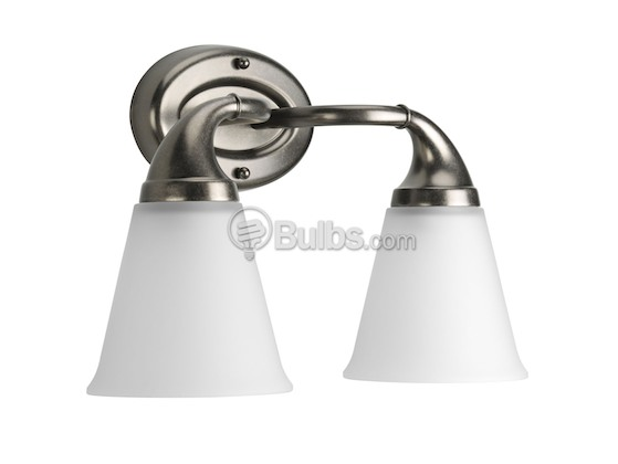 Progress Lighting P2759-03  Two-Light Wall Bracket Light Fixture, Lahara Collection, Aged Pewter Finish