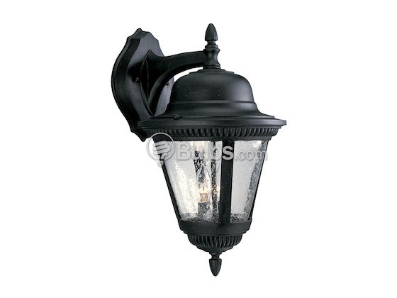 Progress Lighting P5864-31 Two-Light Outdoor Wall Lantern, Westport Collection, Black
