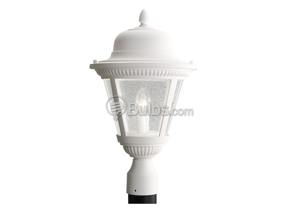 Progress Lighting P5434-30 Two-Light Outdoor Post Lantern, Westport Collection, White
