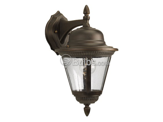 Progress Lighting P5863-20 One-Light Outdoor Wall Lantern, Westport Collection, Antique Bronze