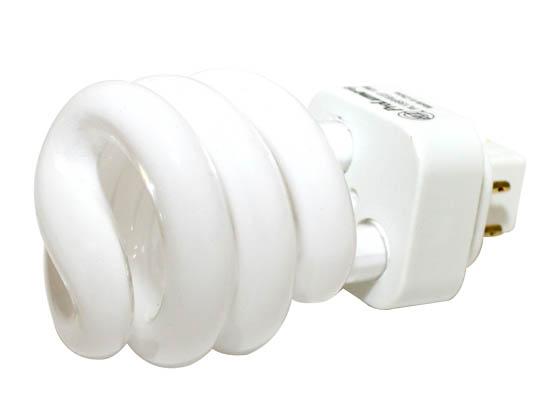 Halco 13w 4 Pin Gx24q1 Warm White Spiral Cfl Bulb Pl13sp