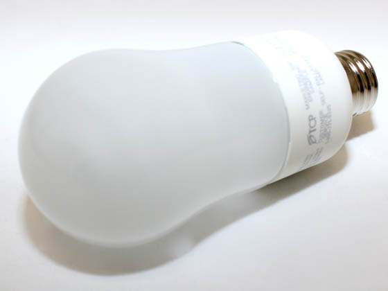 TCP TEC41316TD 41316TD 60W Equivalent, 16 Watt, 120 Volt Dimmable Warm White A-Style CFL Bulb.