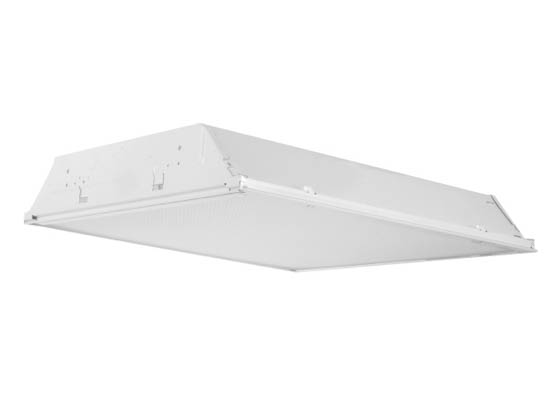 "Philips - Crescent/Stonco 24GP232BT2Q 2X4 3"" Troffer Fixture for Two F32T8 Lamps"