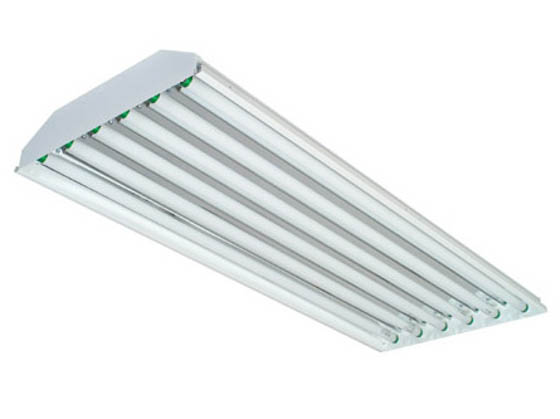 Philips - Crescent/Stonco TBW654EB4-8 Fluorescent High Bay Fixture Ignites Six F54T5/HO Lamps of 120-277 Voltages.