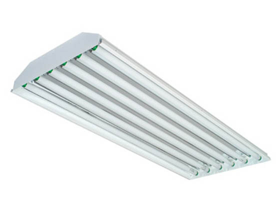 Philips - Crescent/Stonco TBW632EB2-8 Fluorescent High Bay Fixture Ignites Six F32T8 Lamps of 120-277 Voltages.