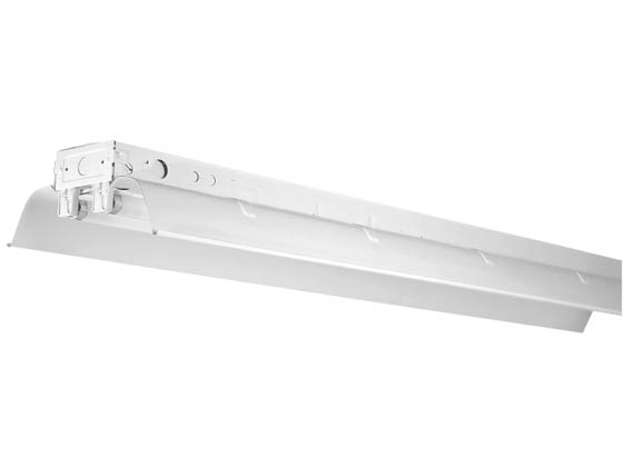 "Philips - Crescent/Stonco RNT232UNIV 96"" Industrial Fluorescent Tandem Fixture Ignites Four F32T8 Lamps of 120-277 Voltages."