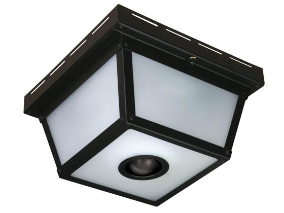 Heath Zenith Sl 4305 Bk Four Light Motion Activated Indoor Outdoor