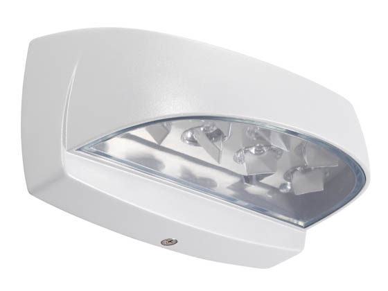 Philips - Crescent/Stonco LP7W LP7W (LytePro7) Architectural LED Wall Sconce, White Finish