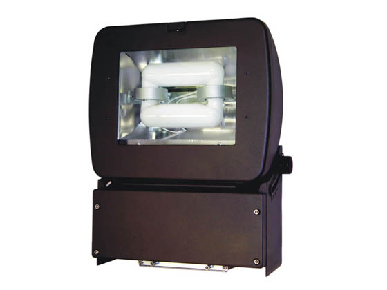 "Crystal Lighting SM-CLP-303AL-65IND 150W HID Equivalent, 65 Watt 13"" Wallpack/Parking Lot Induction Light Fixture"