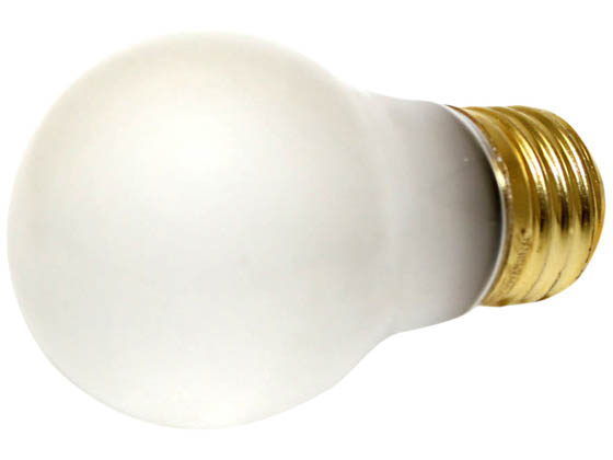 Halco Lighting HAL6014 A15FR15  (130V) Halco 15W 130V A15 Ceiling Fan or Appliance Bulb, E26 Base