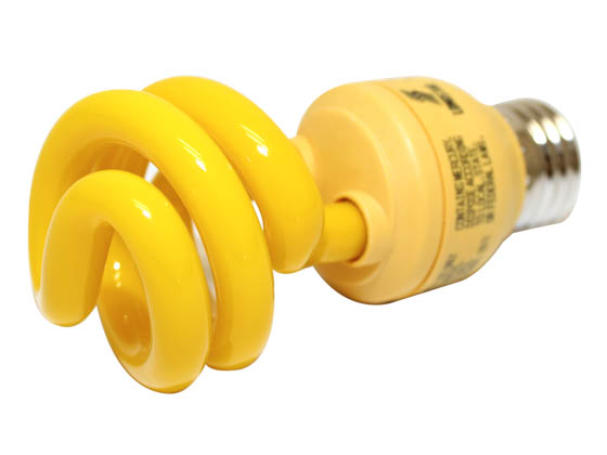 Longstar FE-IIS-13W/Y Long Star 13W Yellow CFL Bulb