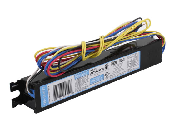 philips advance electronic ballast 120v to 277v for 3 or. Black Bedroom Furniture Sets. Home Design Ideas