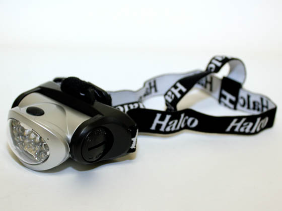 Halco Lighting HAL80920 HL/18LED (DO NOT SELL) Halco Water Resistant LED Headlamp