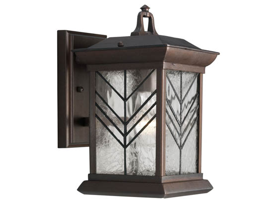 Progress Lighting P5974-88 One-Light Outdoor Wall Lantern, Copeland Collection, Heirloom Finish