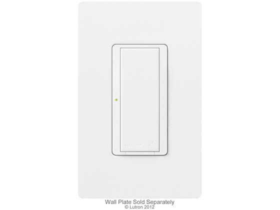 Lutron Electronics MRF2-6ANS-WH Lutron Maestro Wireless Switch, 6 A Lighting, 3 A Fan