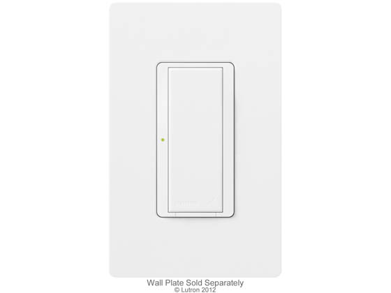 Lutron Electronics MRF2-8ANS-120-WH Lutron Maestro Wireless Switch, 8 A Lighting, 5.8 A Fan