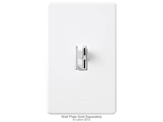 Lutron Electronics AY-603PNL-WH Lutron Ariadni 600 Watt Preset 3-Way Dimmer With Locator Light