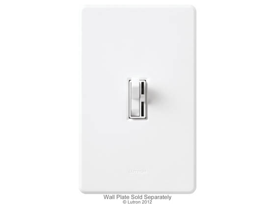 Lutron Electronics AY-103PNL-WH Lutron Ariadni 1000 Watt Preset 3-Way Dimmer With Locator Light