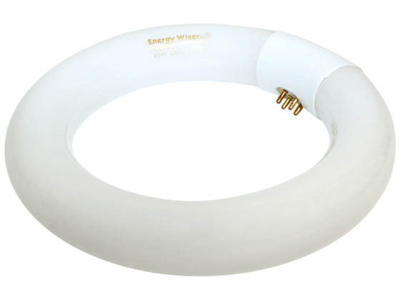 Bulbrite 502106 FC6T9CW 20W 6in Diameter T9 Cool White Circline Bulb