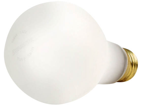 Bulbrite 108150 150A21/TF (Safety) 150W 130V A21 Safety Coated Bulb, E26 Base
