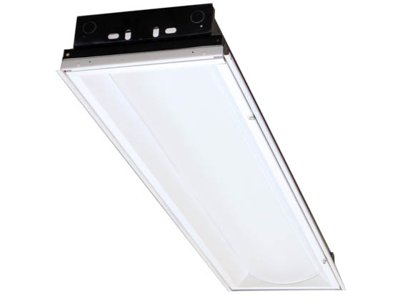 Philips - Lightolier  OPS14GPW26A40ULAG 30 Watt, 1x4 ft Opalescent Recessed LED Fixture