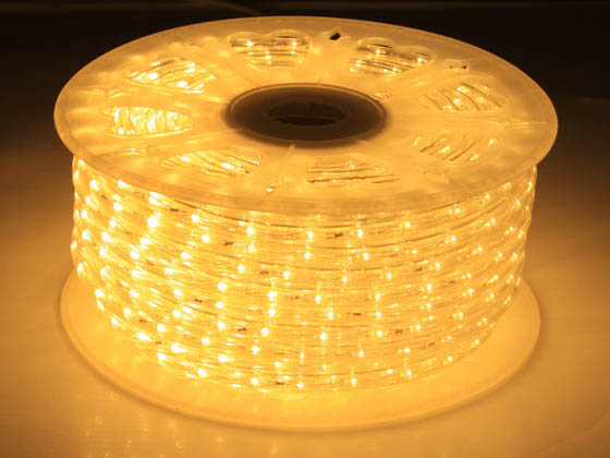 American Lighting LED-DL-WW-150 150' LED Rope Light Reel - Warm White