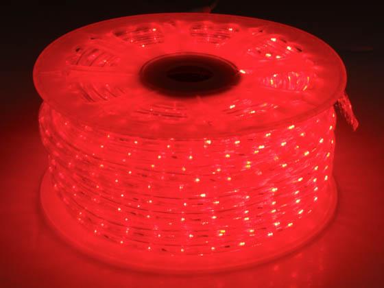 150 Led Rope Light Reel Red Dl Re Bulbs