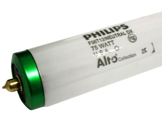 Philips Lighting 423053 F96T12/NX/ALTO Philips 75W 96in T12 Neutral White Fluorescent Tube