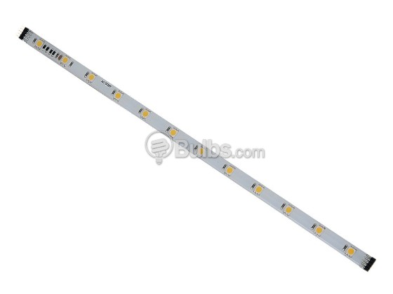 Sea Gull Lighting 98678SW-15 12V, (16) 1 Ft. LED Flexible Tape Sections, 2700K - White Face