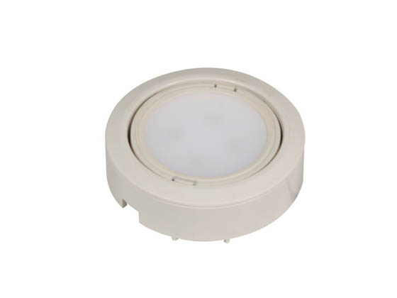 American Lighting LVP-1-WH LED Puck Light Fixture, 1 Pack, White