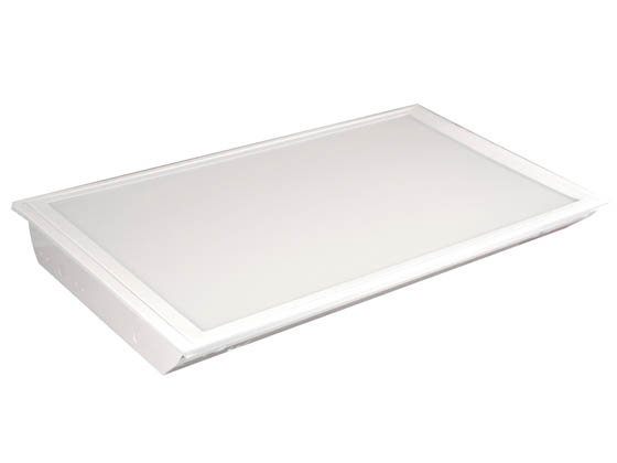 MaxLite 71499 MLRT24D5535 55 Watt, 3500K, 2x4 ft Dimmable Recessed LED Flat Panel Fixture
