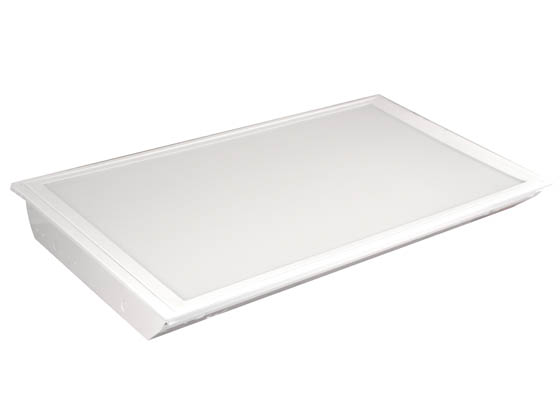 MaxLite 71477 MLRT24D5541 55 Watt, 4100K, 2x4 ft Dimmable Recessed LED Flat Panel Fixture