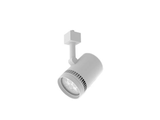 "Solais Lighting, Inc. Xi24/40/27K/1450/WH/L 3"" Dimmable LED Track Head Fixture, Lightolier Track Type, 2700K, 40° Beam Angle - White"