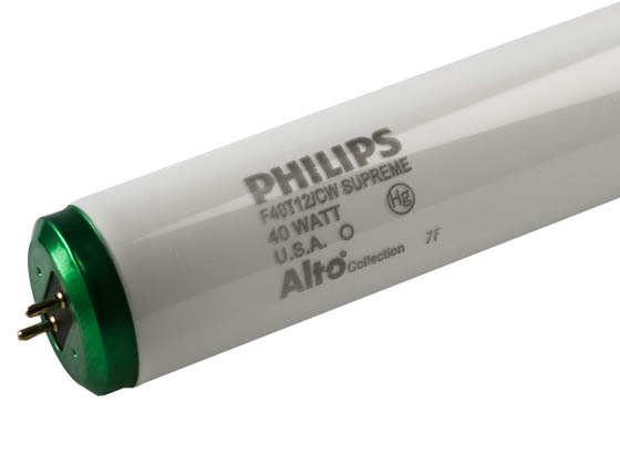 Philips Lighting 422675 F40T12/CWSupreme/ALTO 10PK Philips 40W 48in T12 Cool White Fluorescent Tube